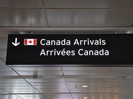 Canada Arrivals