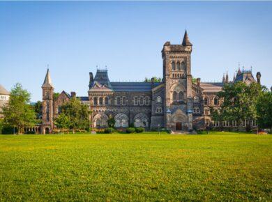 University campus in Canada